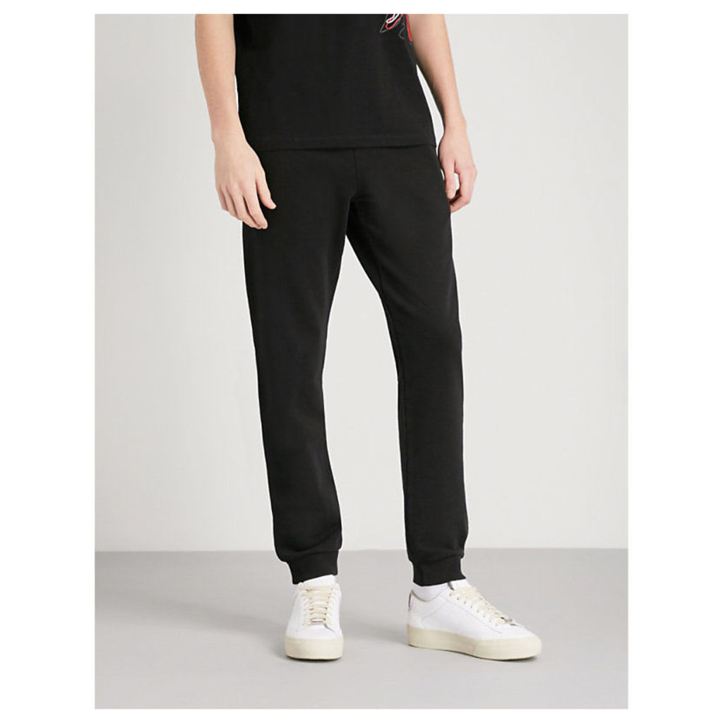 Skinny cotton-jersey jogging bottoms