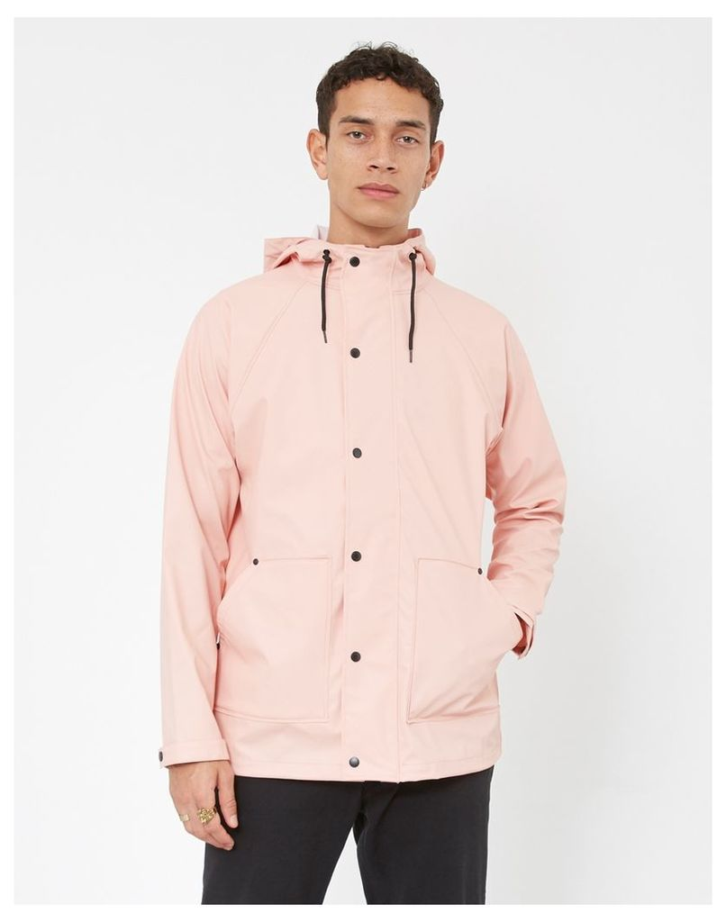The Idle Man Lightweight Raincoat Pink