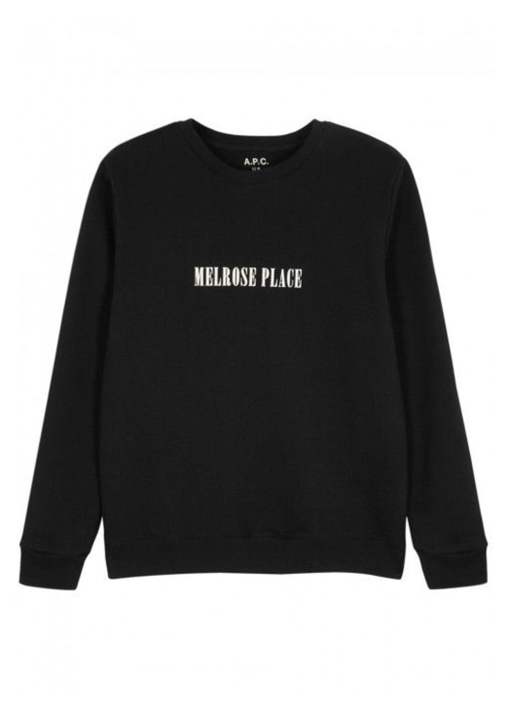 A.P.C. Melrose Place Cotton Sweatshirt - Size XL