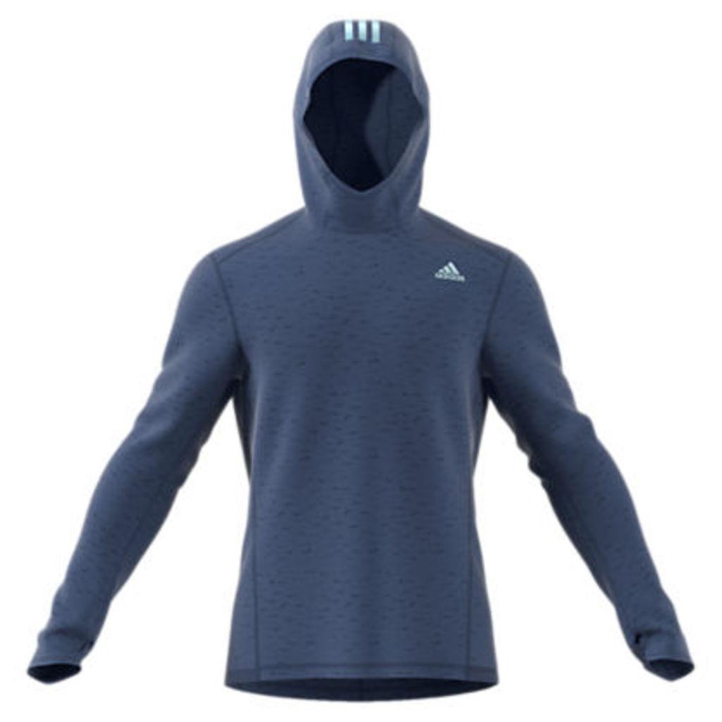 Adidas Response Astro Running Hoodie, Noble Indigo