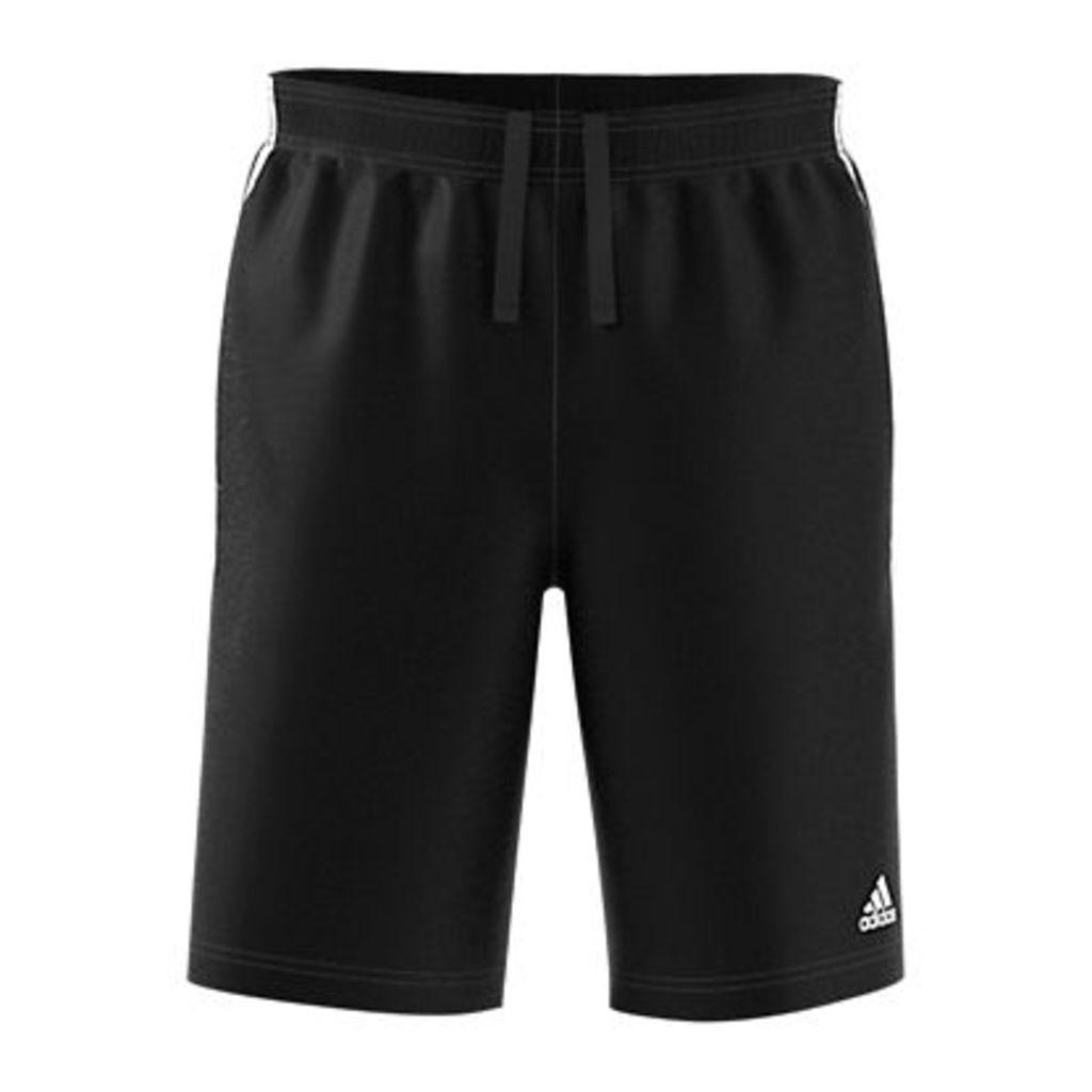 Adidas Athletics Essentials 3-Stripes Shorts, Black