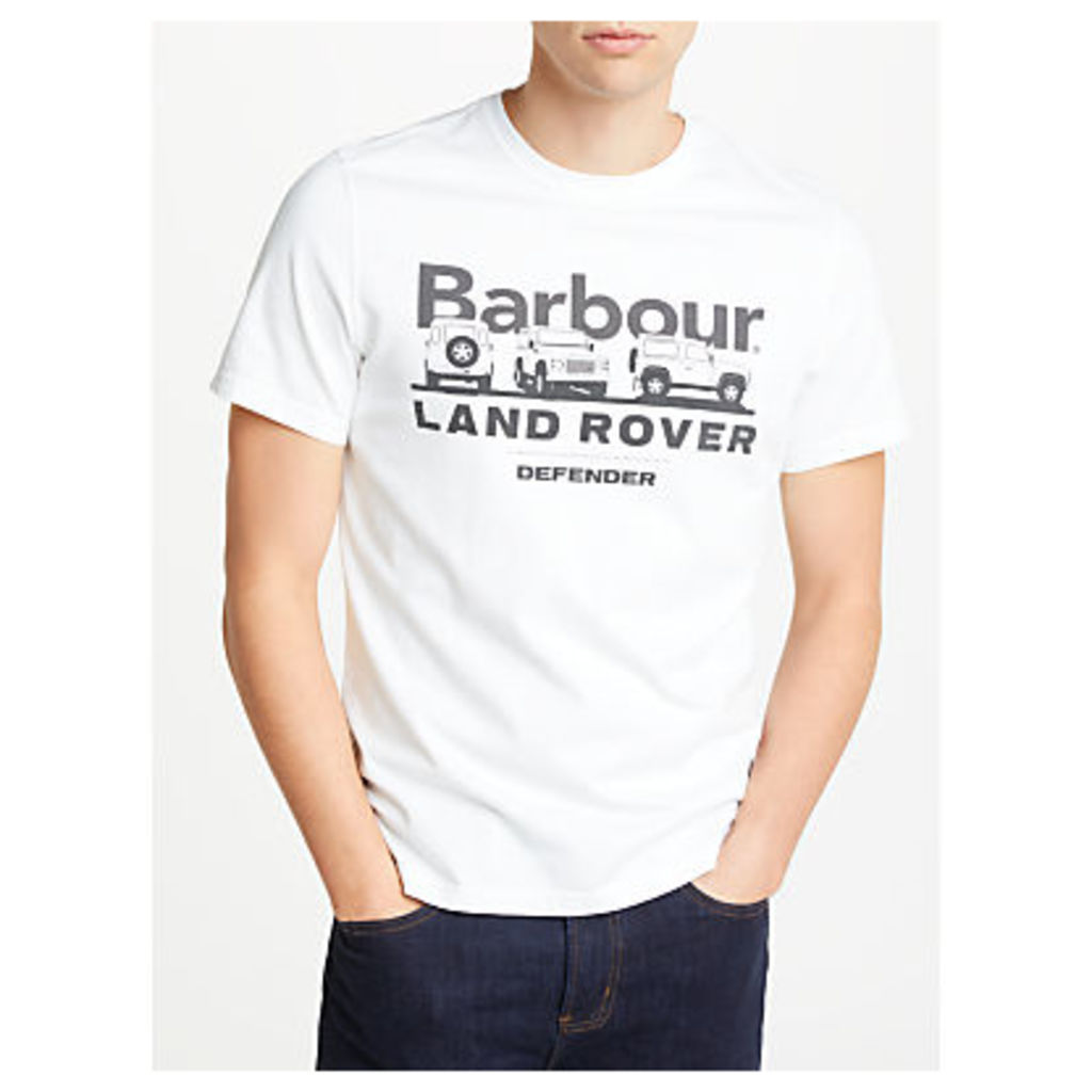 Barbour Land Rover Defender Lingmell Graphic T-Shirt, White