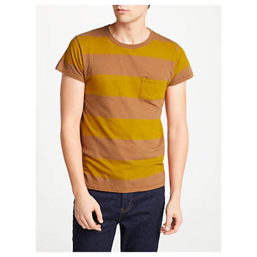 Levi's Vintage 1950s Stripe Sportswear T-Shirt, Whiskey Barrel