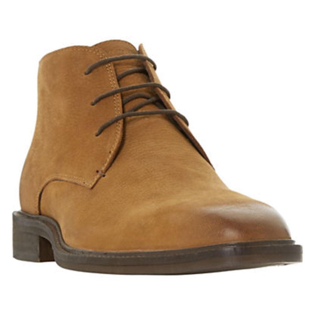 Bertie Mogul Contrasting Heel Chukka Boots, Tan