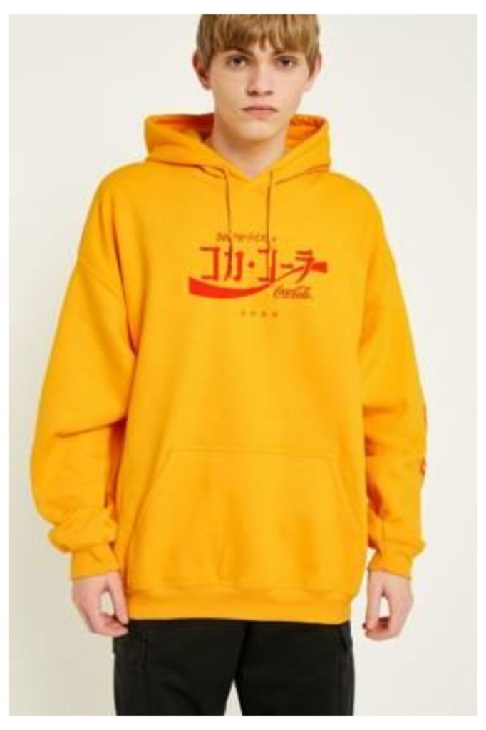 UO Gold Coca-Cola Hoodie, Yellow