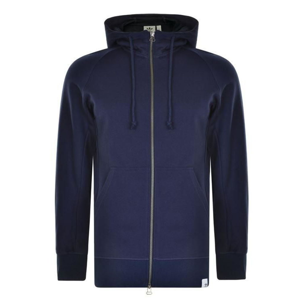ADIDAS ORIGINALS Long Line Zip Through Jacket