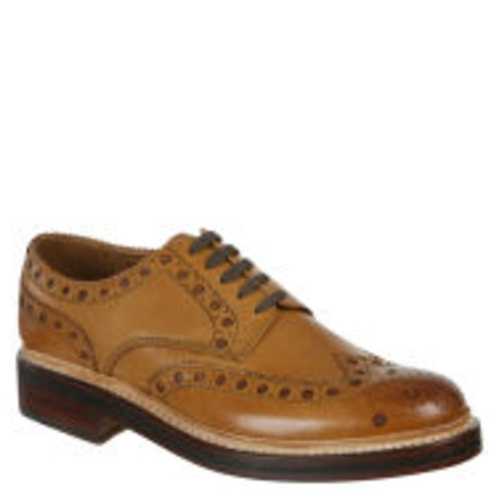 Grenson Men's Archie Shoes - Tan - 10 - Tan
