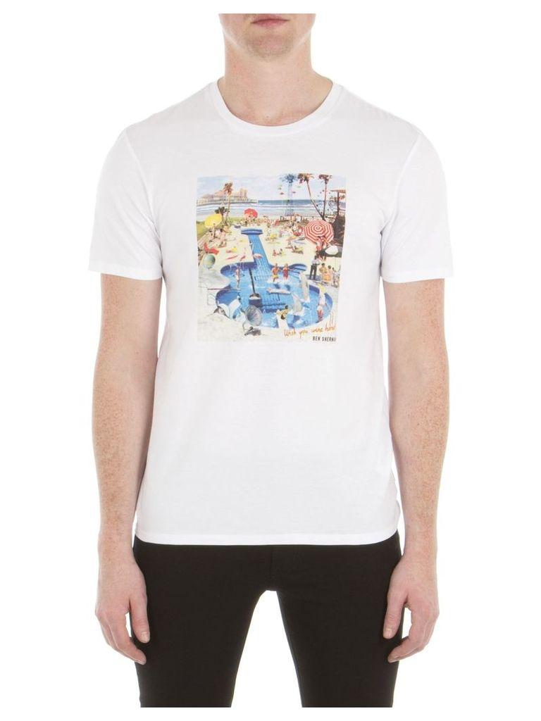 Pool Party T-Shirt 5XL A47 Bright White