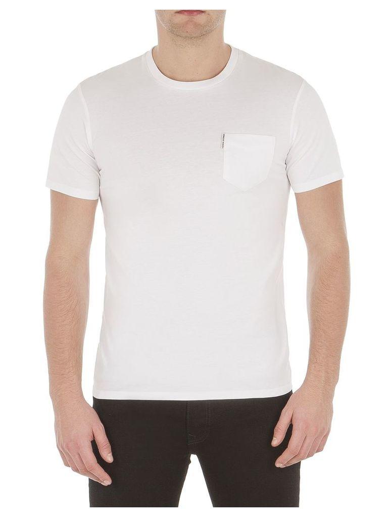 Classic Crew Neck Pocket T-Shirt XXL A47 Bright White