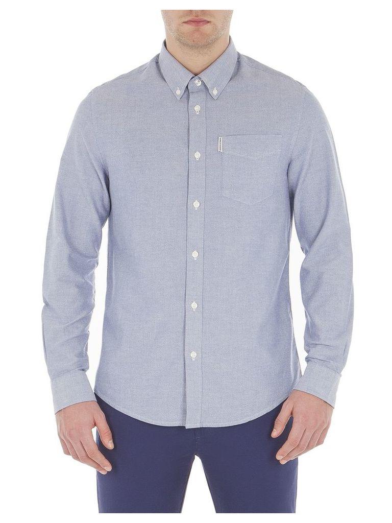 Long Sleeve Oxford Shirt XXL Classic Navy
