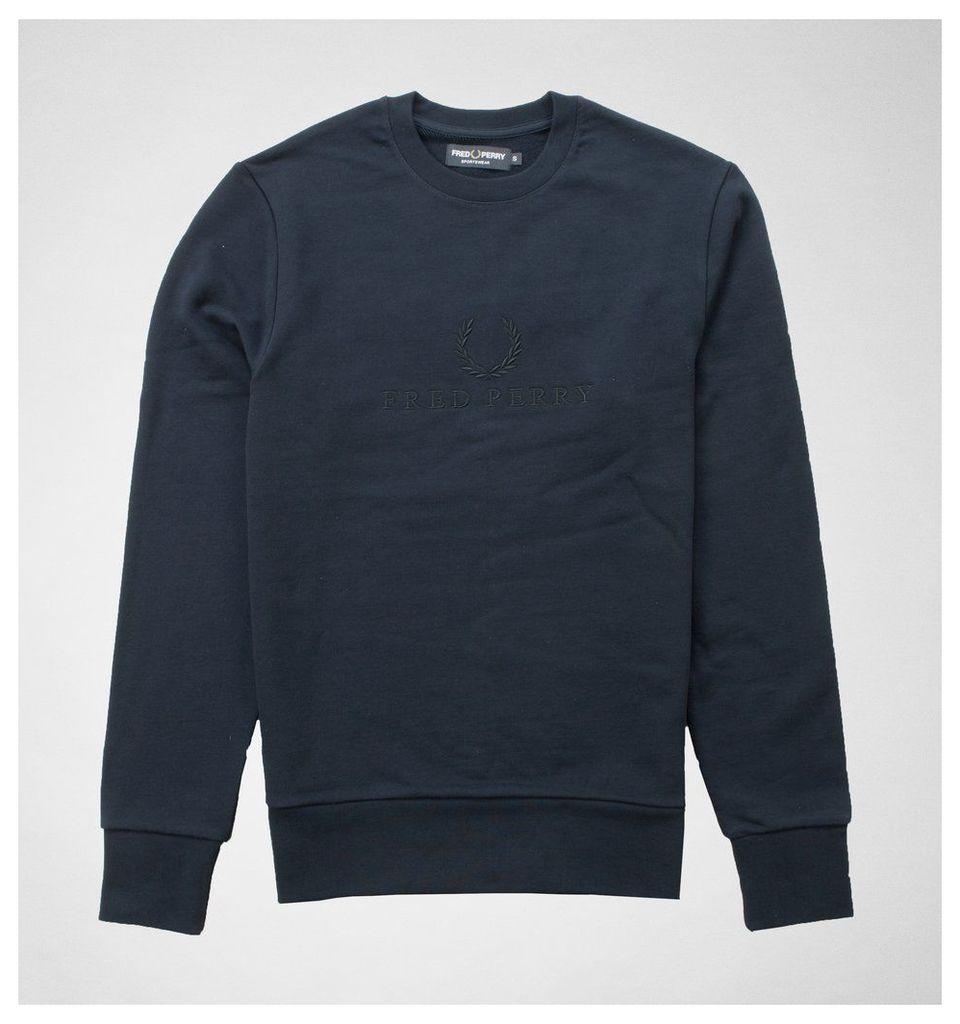 M3584 Embroidered Sweatshirt