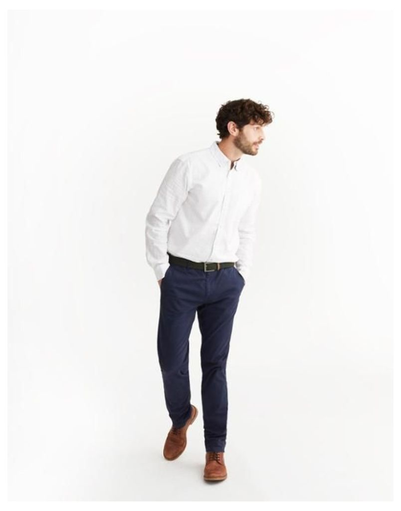 French Navy Laundered Chinos  Size 32-34L | Joules UK