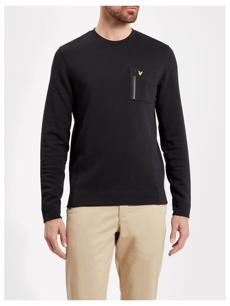Lyle & Scott Zip Pocket Sweatshirt