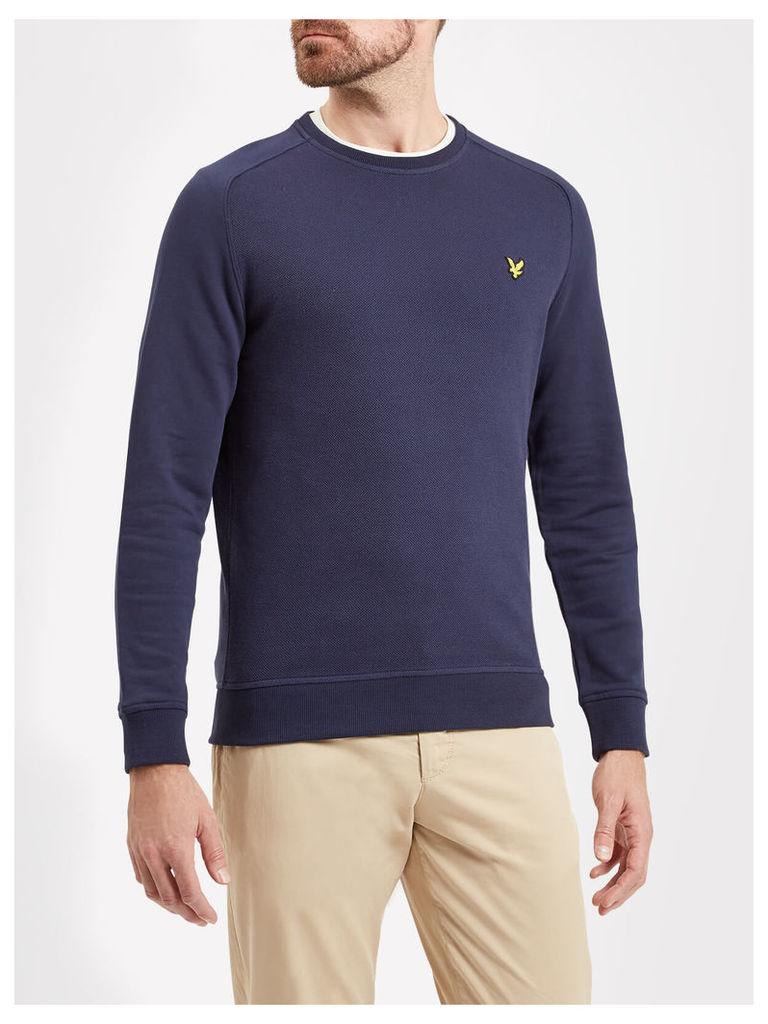 Lyle & Scott Honeycomb Stitch Sweatshirt