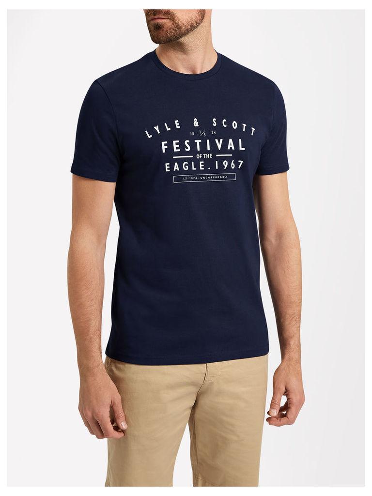 Lyle & Scott Festival Graphic T-shirt