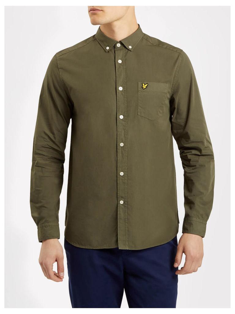 Lyle & Scott Garment Dye Shirt