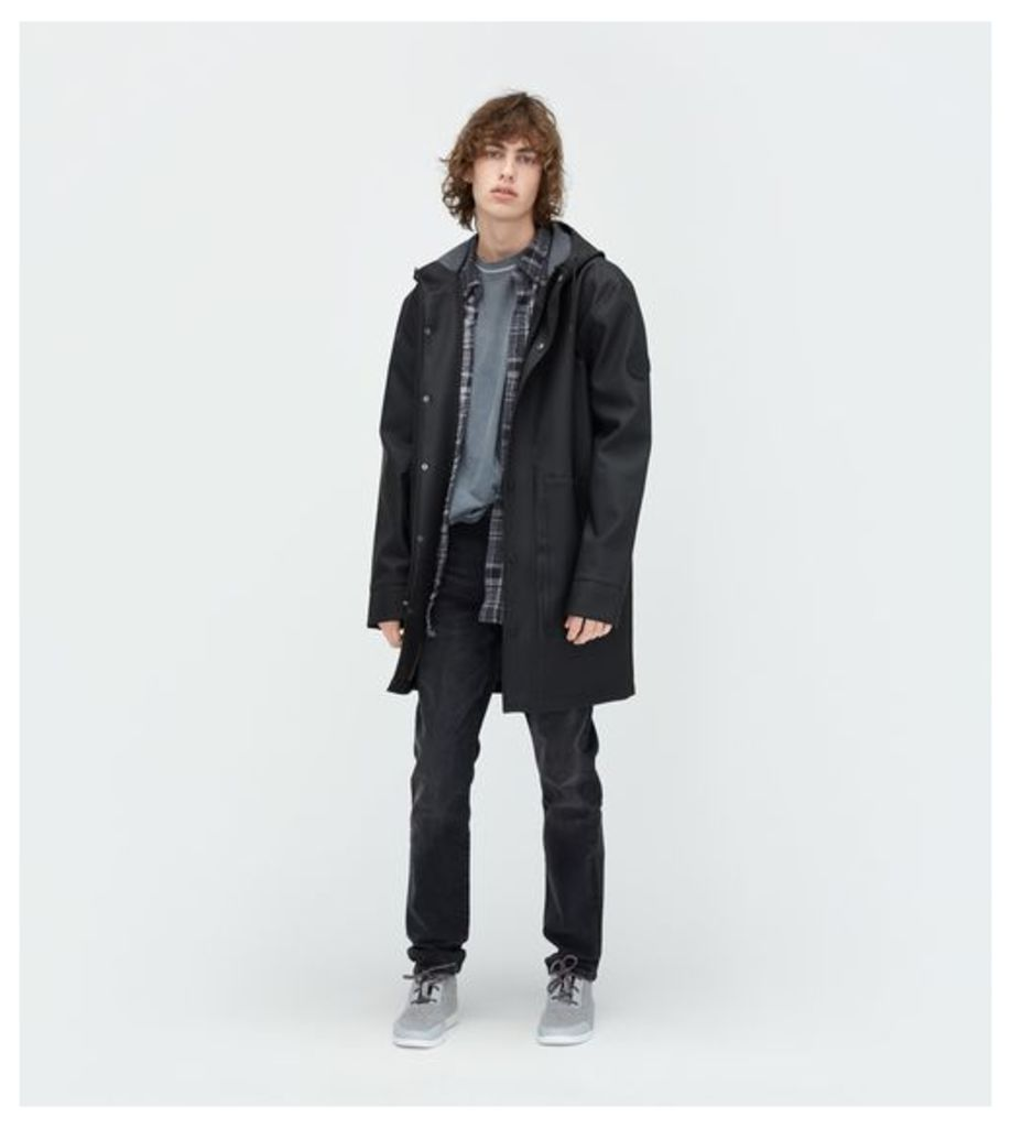 UGG Rain Jacket Mens Outerwear Black M