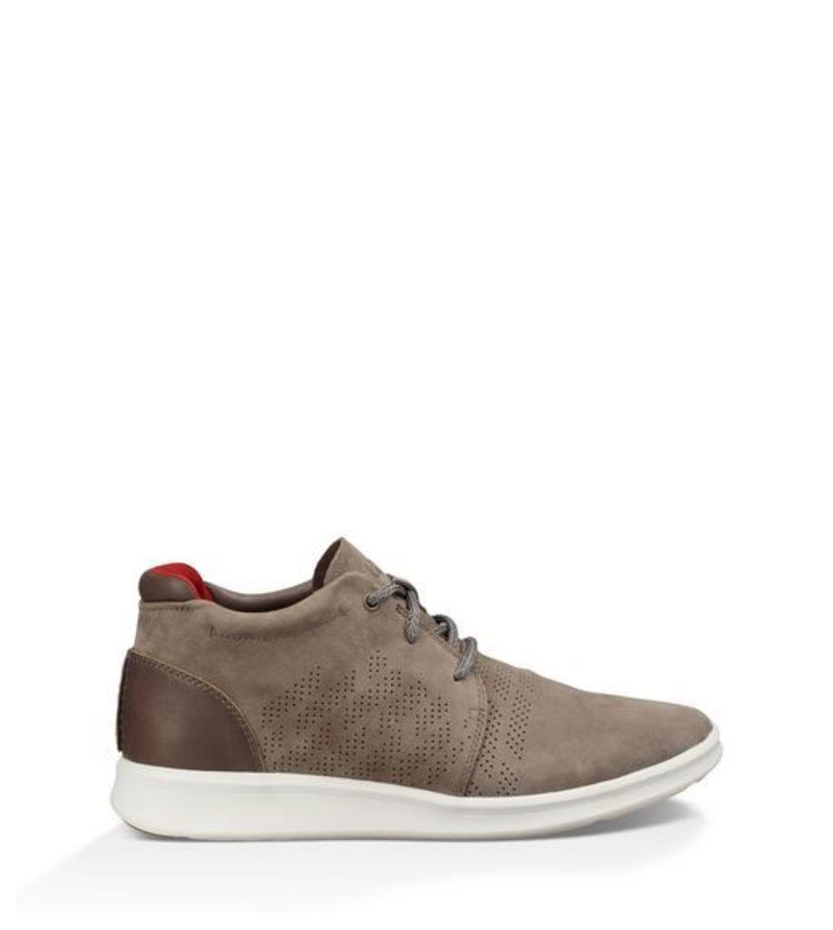 UGG Larken Stripe Perf Trainer Mens Shoes Mole 6