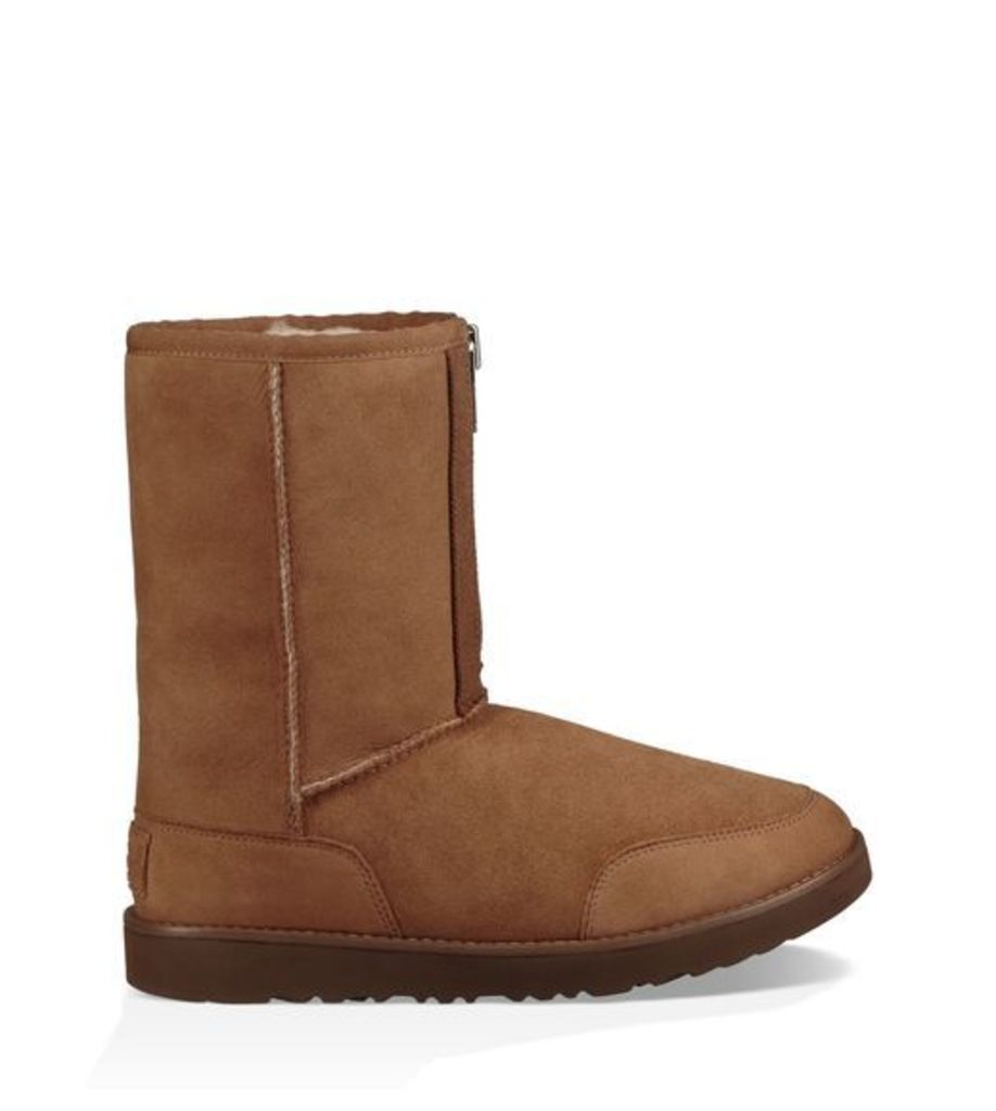 UGG Phillip Lim Classic Short Zip Boot Mens Boots Chestnut 12