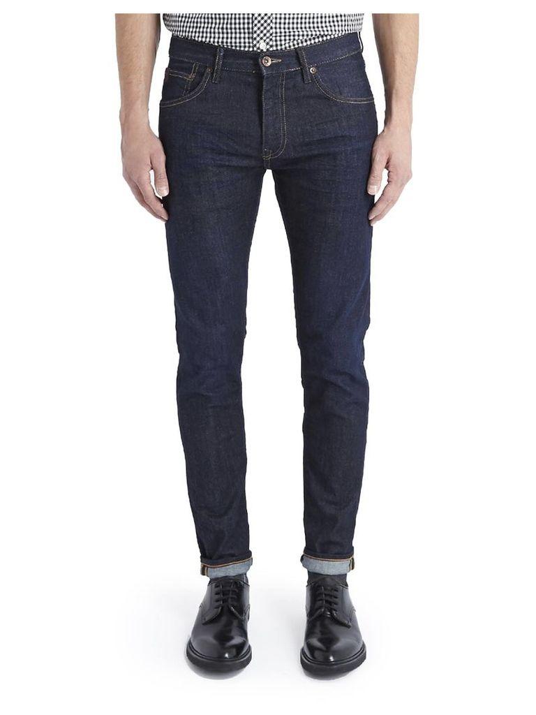 Skinny Dry Rub Jeans 31L Dry Rub/Indigo