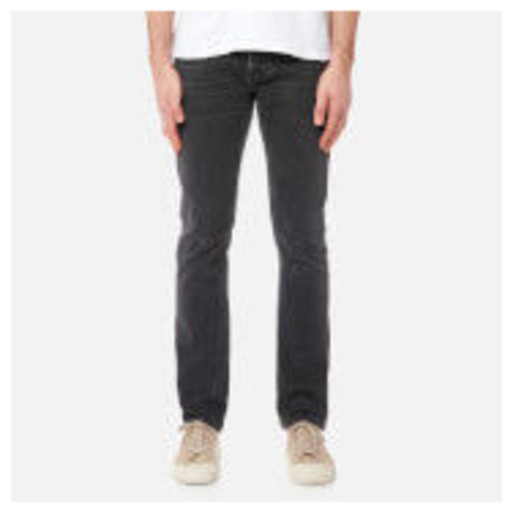 Nudie Jeans Men's Grim Tim Slim Jeans - Black Seas - W36/L32 - Black