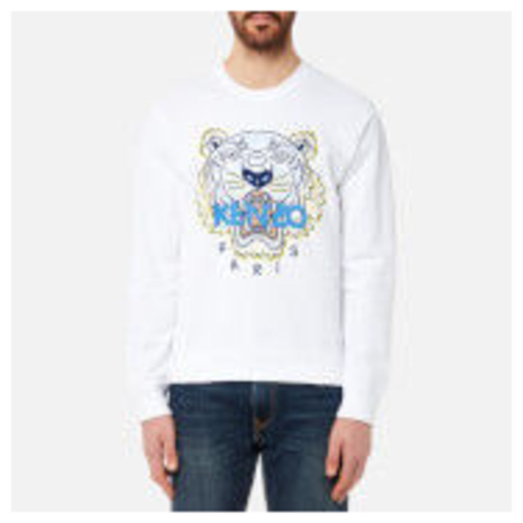 KENZO Men's Classic Icon Sweatshirt - White - XXL - White