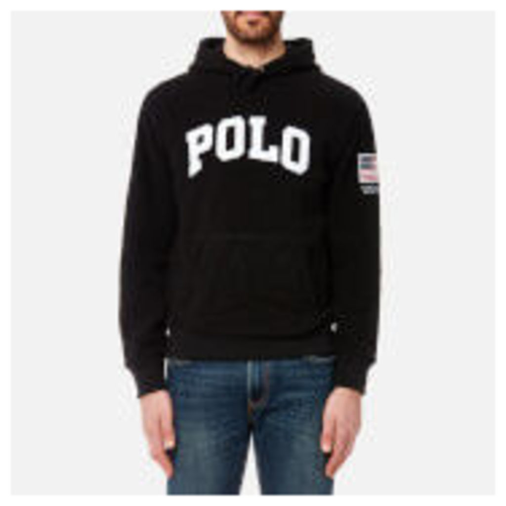 Polo Ralph Lauren Men's Polar Fleece Hoody - Black