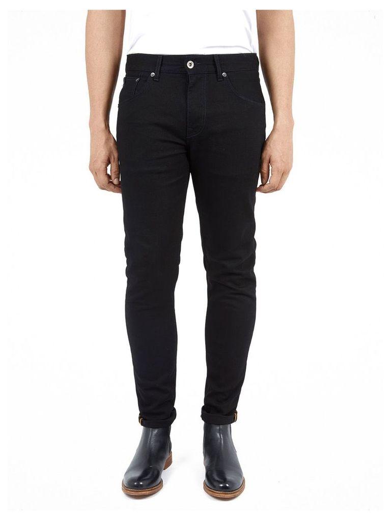 Skinny Stretch Black Rinse Jeans 30S Jet Rinse