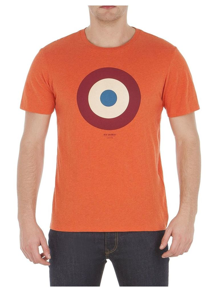 Target T-Shirt Lge F22 Mecca Orange Mar