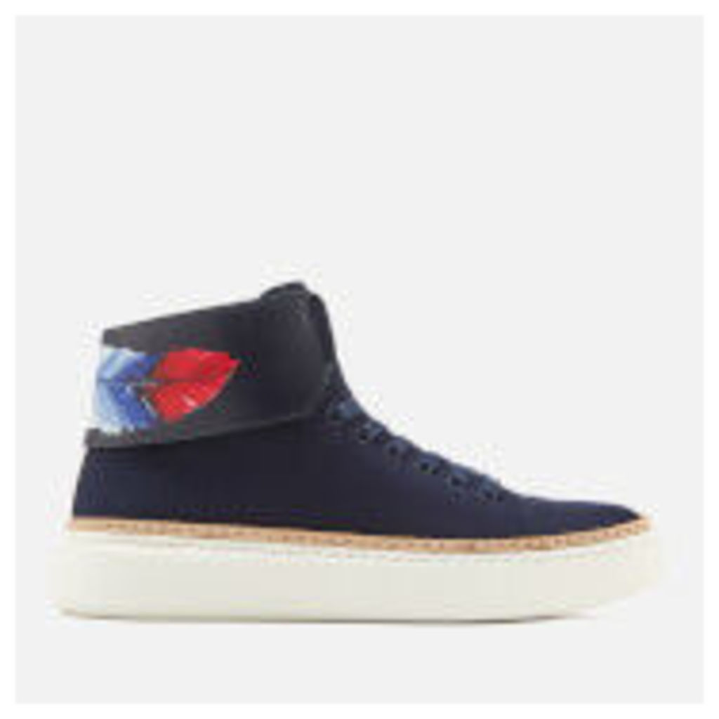 Buscemi Men's 90MM Crepone Trainers - Navy - UK 11 - Navy
