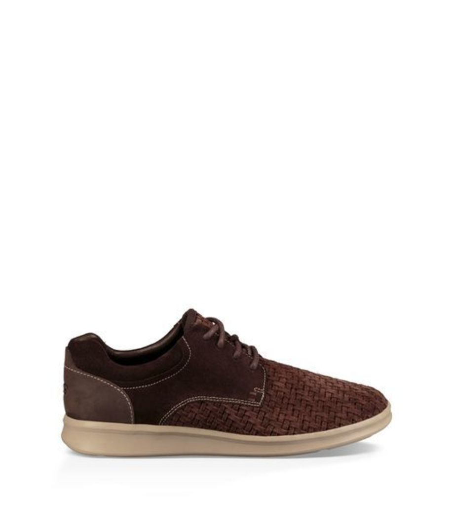 UGG Hepner Woven Luxe Trainer Mens Shoes Stout 10