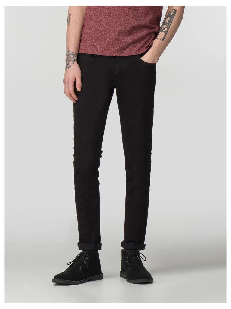 Black Slim Jean 38R Black Denim
