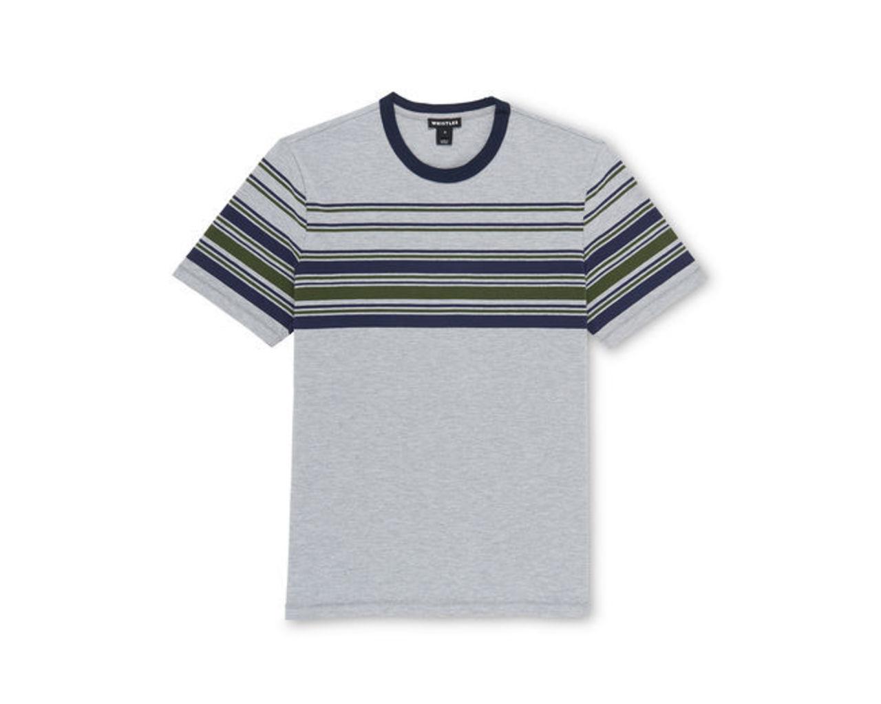 Placement Stripe T-shirt