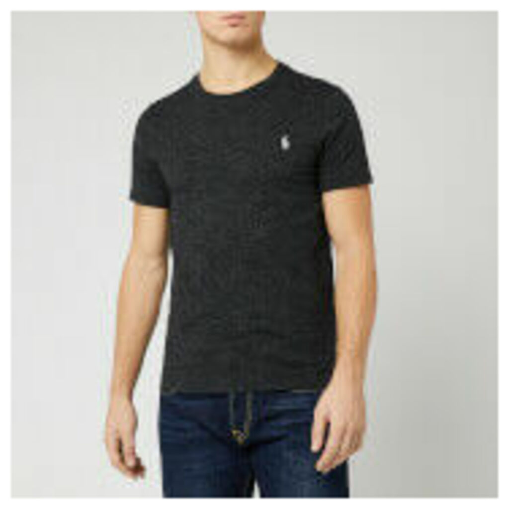Polo Ralph Lauren Men's Basic T-Shirt - Black Marl Heather