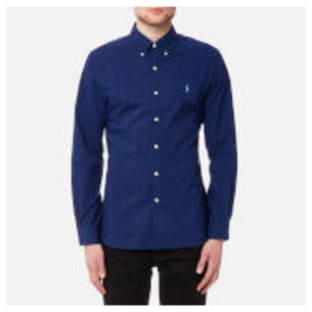 Polo Ralph Lauren Men's Slim Fit Poplin Shirt - Soho Blue