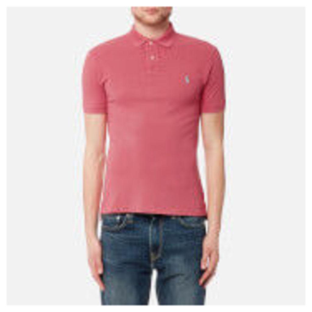 Polo Ralph Lauren Men's Slim Fit Polo Shirt - Salmon Heather