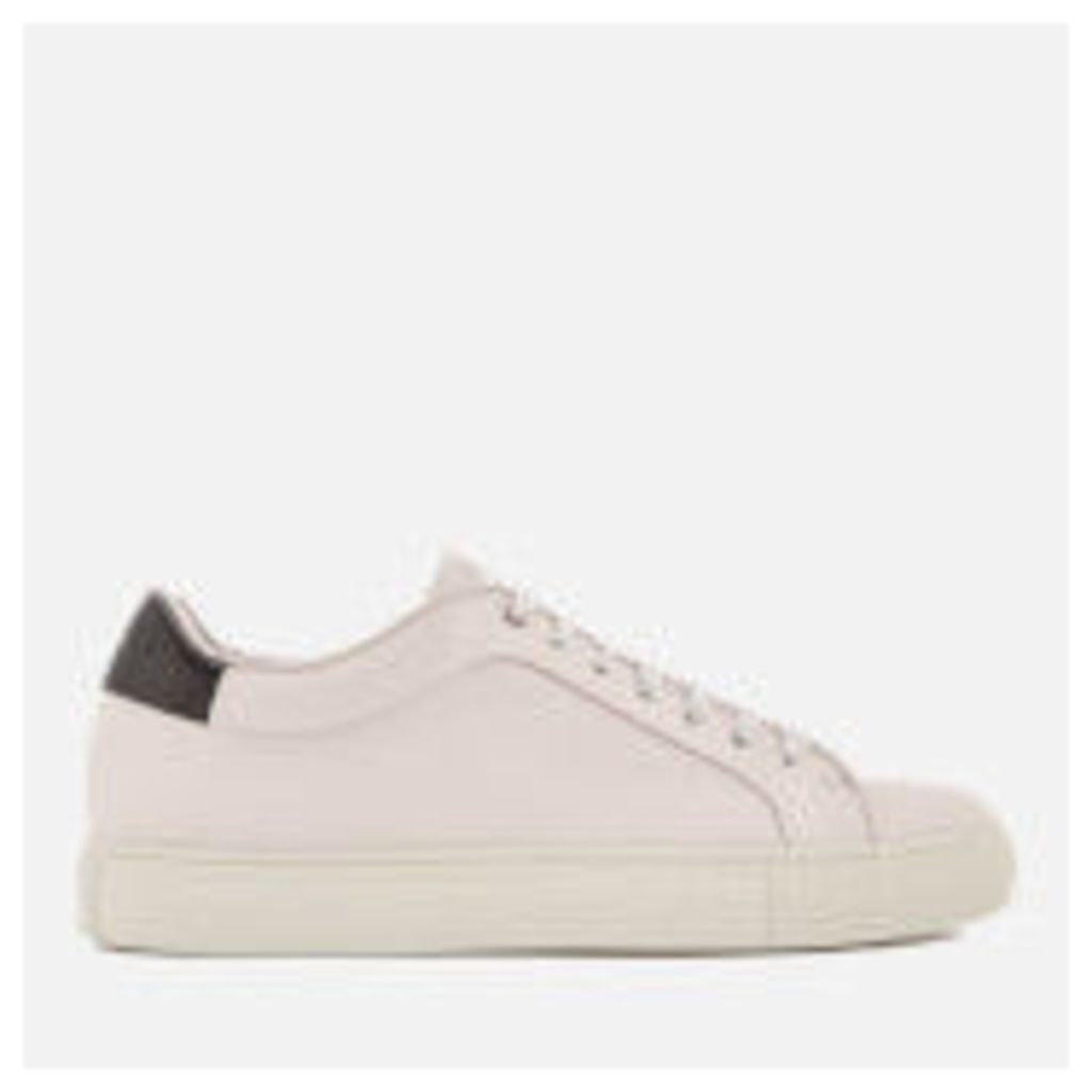 Paul Smith Men's Basso Leather Cupsole Trainers - Quiet White - UK 11 - White
