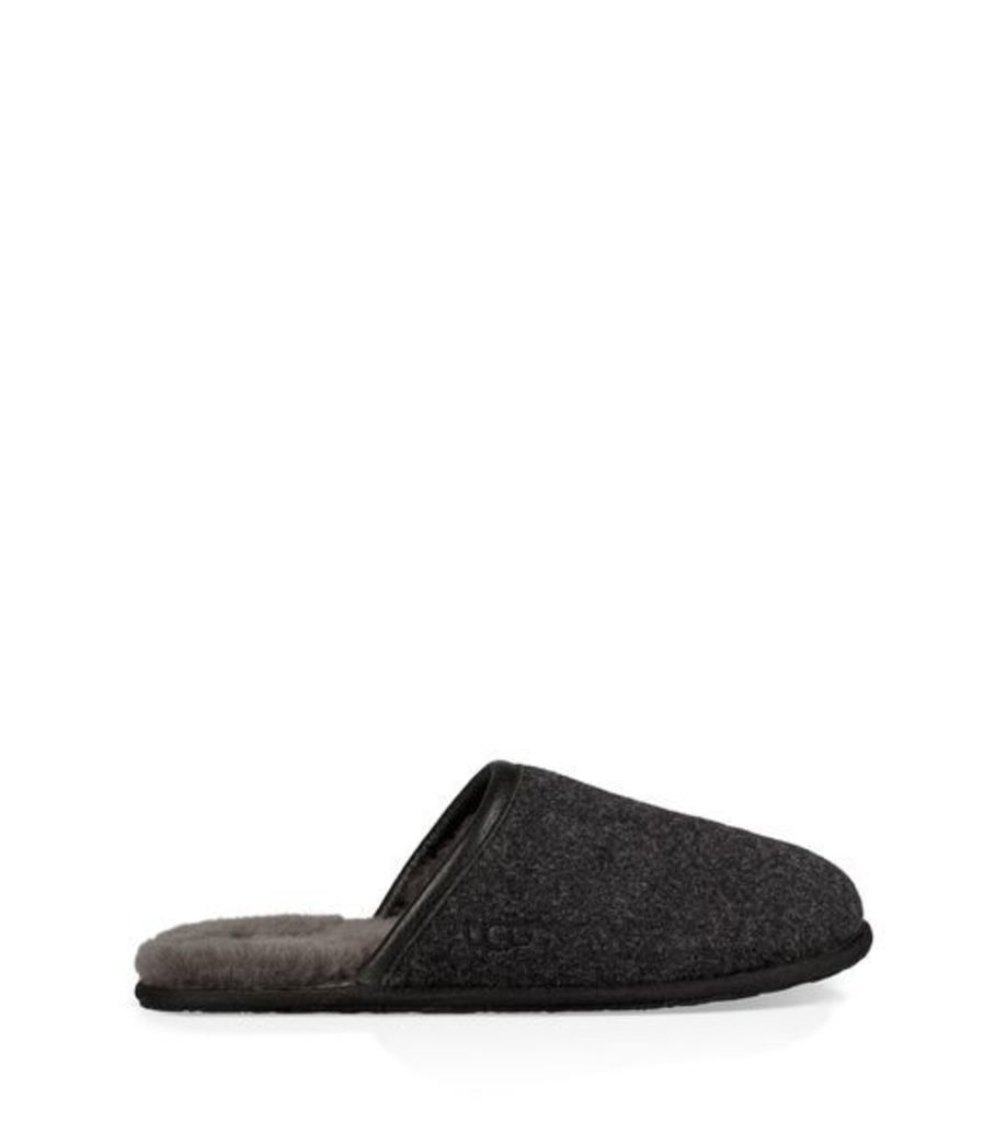 UGG Scuff Novelty Mens Slippers Black 11