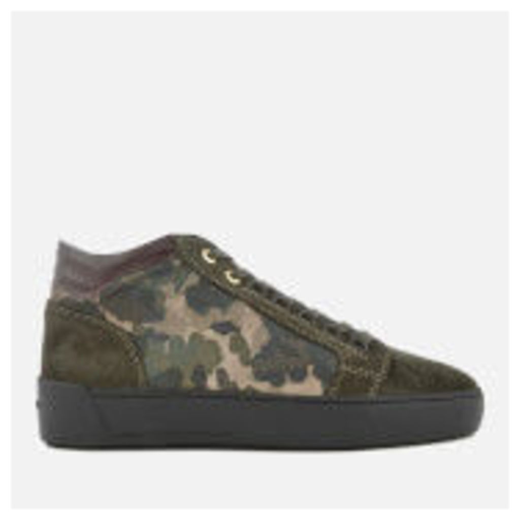 Android Homme Men's Propulsion Mid Camouflage Trainers - Camo - UK 11 - Green