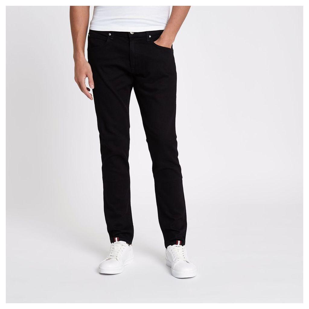 River Island Mens Black Lee slim fit tapered jeans