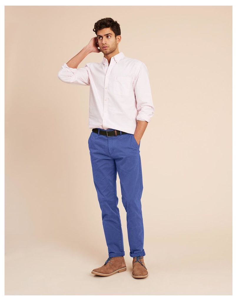 Skipper Blue Laundered Chinos  Size 34-32 | Joules UK