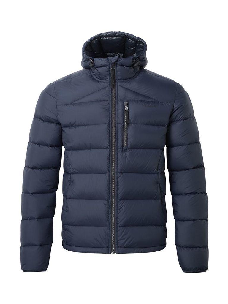 Men's Tog 24 Peak Mens Hooded Down Jacket, Blue