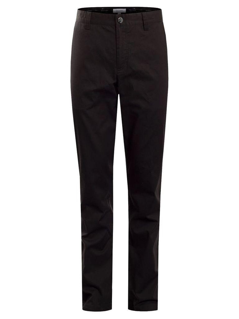 Men's Calvin Klein Golf Cotton Stretch ChinoTrouser, Black