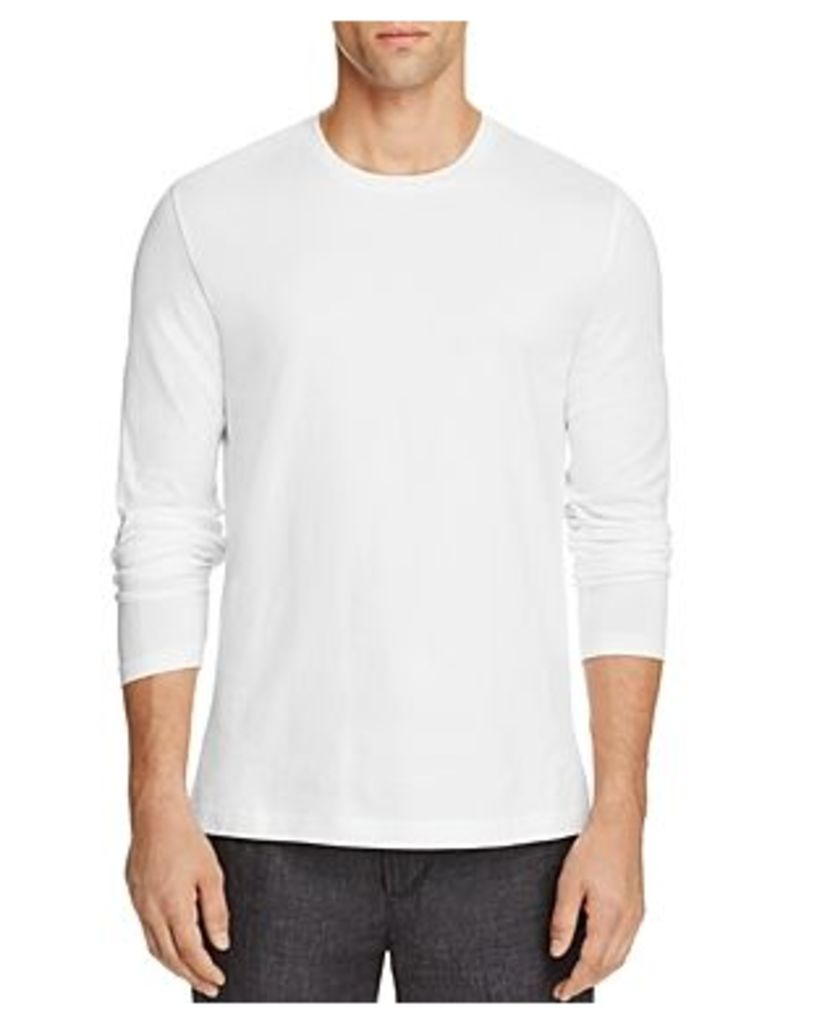 Vince Clean Pima Cotton Jersey Long Sleeve Tee