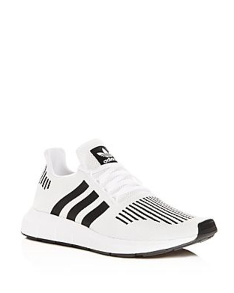 Adidas Men's Swift Run Knit Lace Up Sneakers