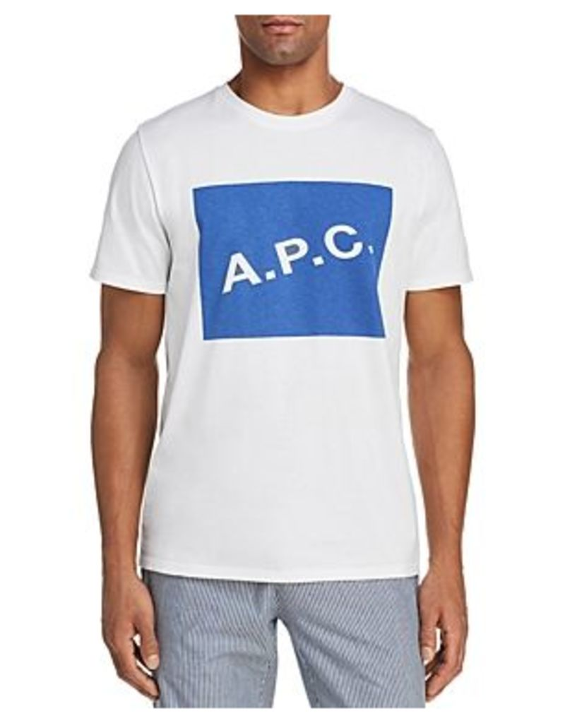 A.p.c. Kraft Crewneck Short Sleeve Tee