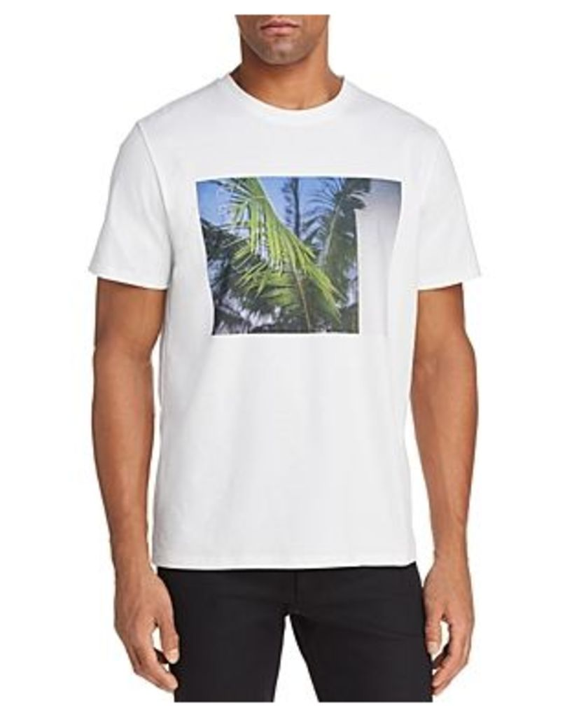 A.p.c. Palm Tree Crewneck Short Sleeve Tee