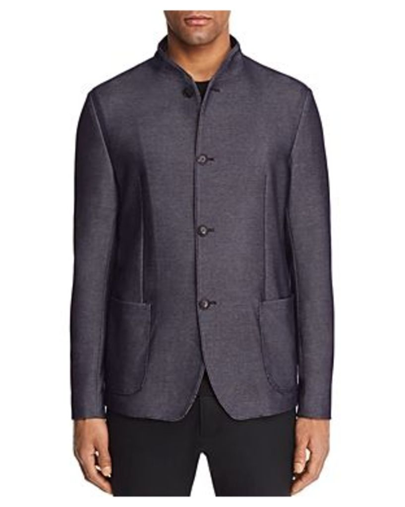 Emporio Armani Micro Dot Regular Fit Sport Coat