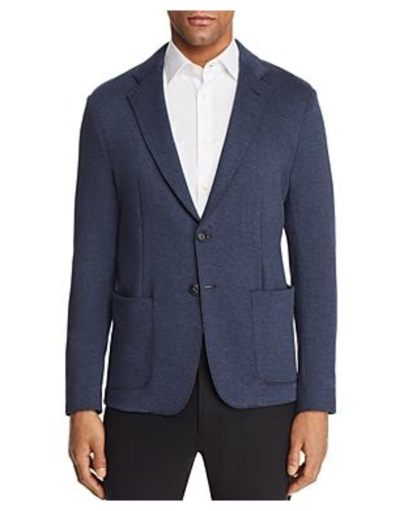 Emporio Armani Fine Patterned Regular Fit Sport Coat