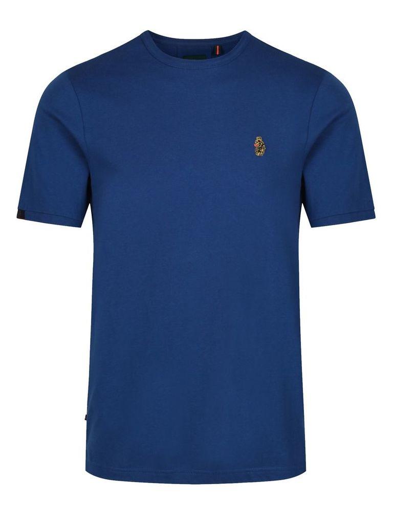 Men's Luke 1977 Traffs Crew Neck T-Shirt, Prussion Blue